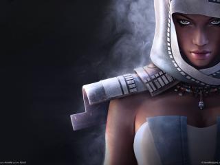 обои Guild wars nightfall - богиня фото
