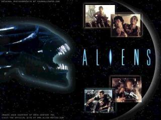 обои Aliens - кадры фото