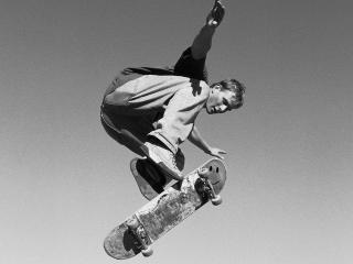 обои Скачок скейтборда фото
