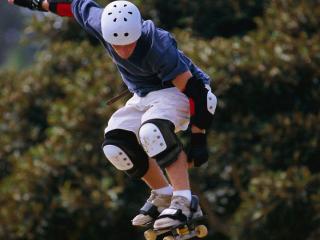 обои Выступ скейтбордера фото