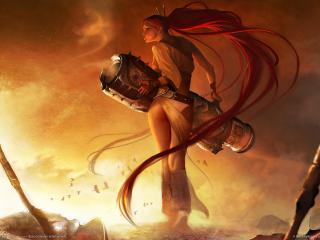 обои Heavenly sword фото