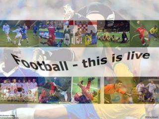 обои Football - this is live фото
