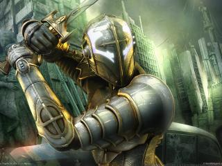обои Hellgate london рыцарь фото