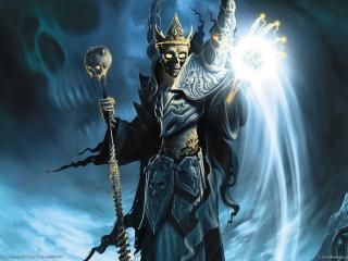 обои Heroes of annihilated empires черный маг фото